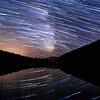 Green Lake Milky Way Startrail