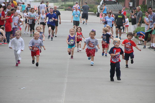 Stars and Stripes 5K 2016 Lee's Summit, Mo.