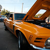 1970 Mustang Mach 1.     I had the same car in the same color over 30 years ago, it was my first car.     Not in this condition...