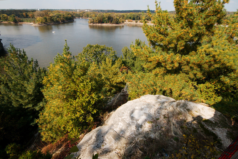 Illinois River, viewed from Starved Rock