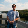 Me, with the Illinois river and the park behind me.