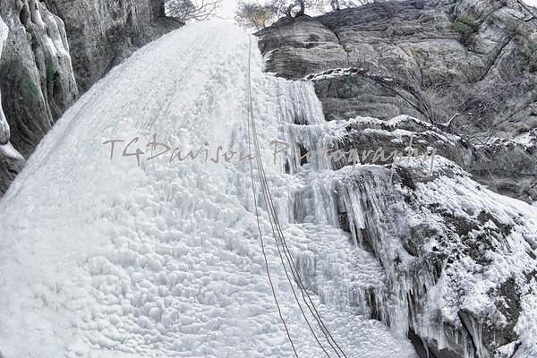 Starved Rock Frozen Falls 2/13/2014