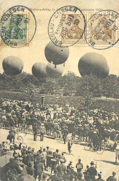 Trzebnicka gazownia pokaz balonowy 06