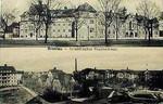 Hohenzollern Str  nr  92-96 Sudecka szpital kolejowy pocztówka 01