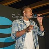 """TROY, MI - JULY 15: Cast from the Starz TV series """"Power"""" makes an in store appearance at AT&T on July 15, 2017 in Troy, Michigan. (Photo by Aaron J. Thornton/RedCarpetImages.net"""