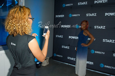 "TROY, MI - JULY 15: Cast from the Starz TV series ""Power"" makes an in store appearance at AT&T on July 15, 2017 in Troy, Michigan. (Photo by Aaron J. Thornton/RedCarpetImages.net"