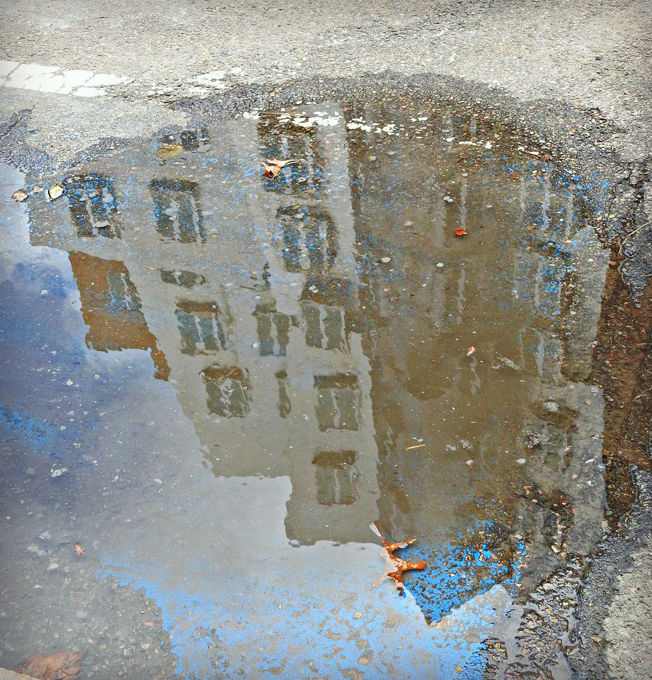 Stata Center in Puddle