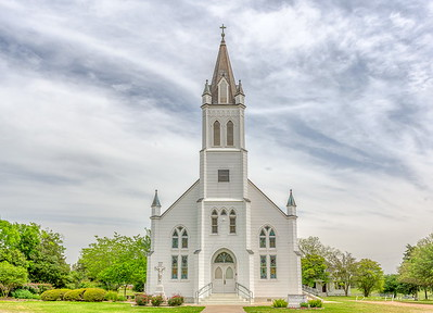 St. John the Baptist Catholic Church is a historic church on FM 1383 in Ammannsville, Texas (outside Schulenberg). It was built in 1917 and added to the National Register of Historic Places in 1983