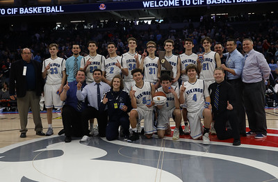 Pleasant Valley High Boys and Girls play for state championship titles at Golden 1 Center, March 24, 2018, in Sacramento, California. (Carin Dorghalli -- Enterprise-Record)