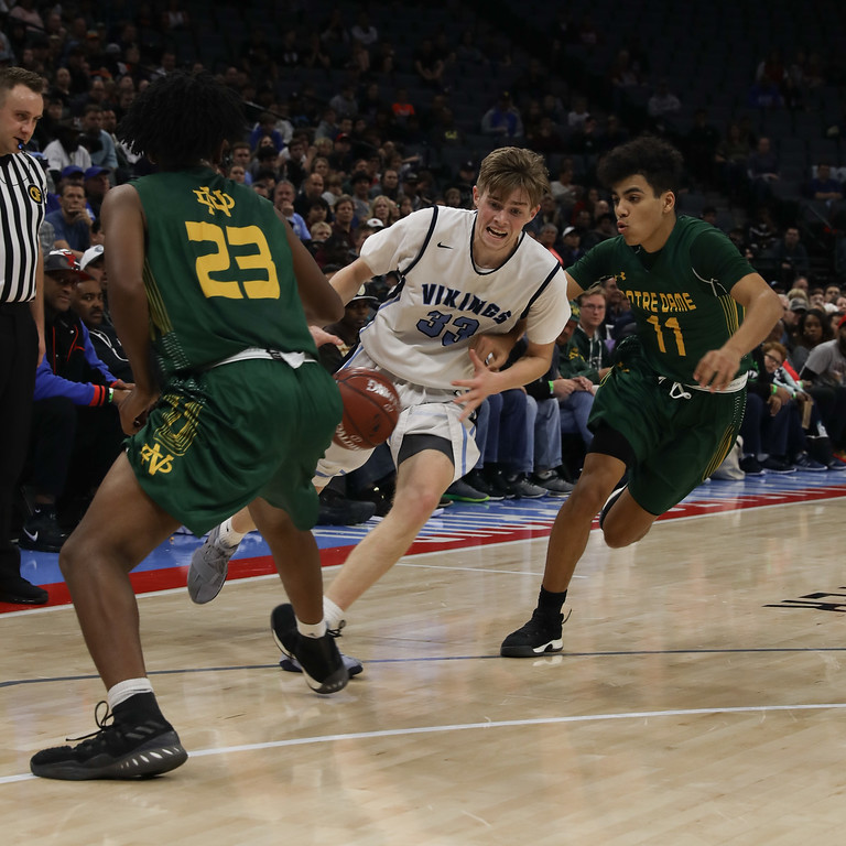 . Pleasant Valley High Boys and Girls play for state championship titles at Golden 1 Center, March 24, 2018, in Sacramento, California. (Carin Dorghalli -- Enterprise-Record)