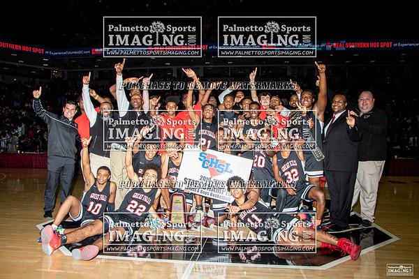 1A State Basketball Championship Great Falls vs Scotts Branch