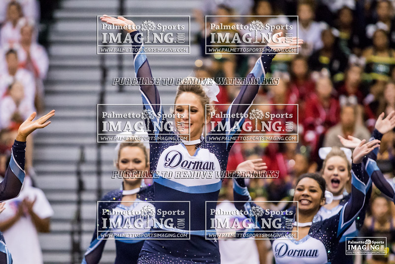 Dorman 2018 5A Cheer Qualifier-1