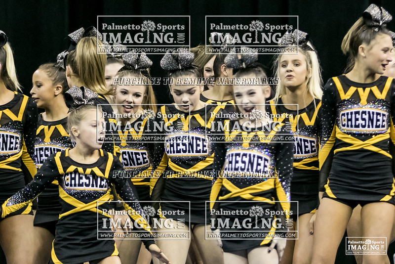 Chesnee High School Cheer State 2018