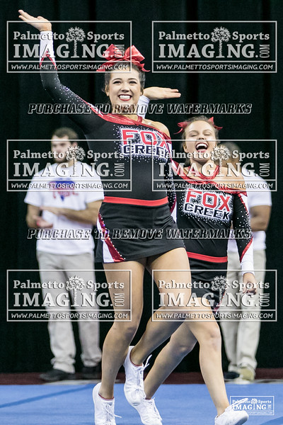 16 Fox Creek Varsity Cheer 2018 State-1