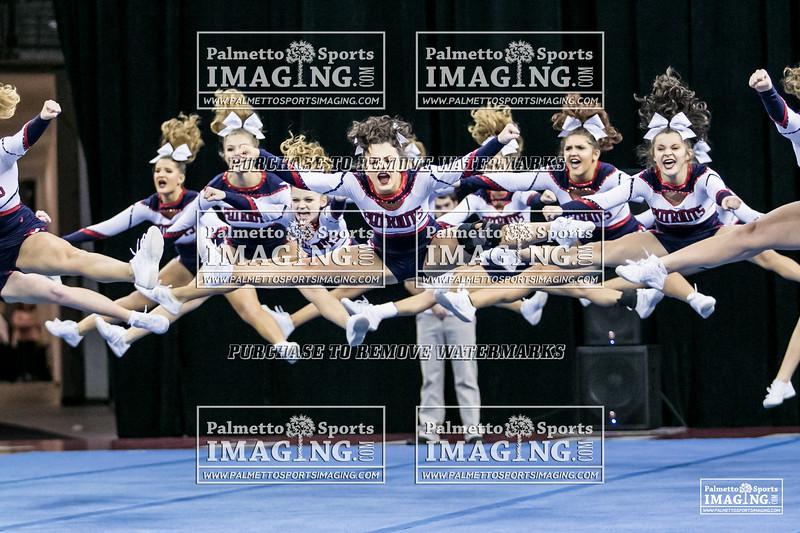 4Powdersville Varsity Cheer 2018 State-21