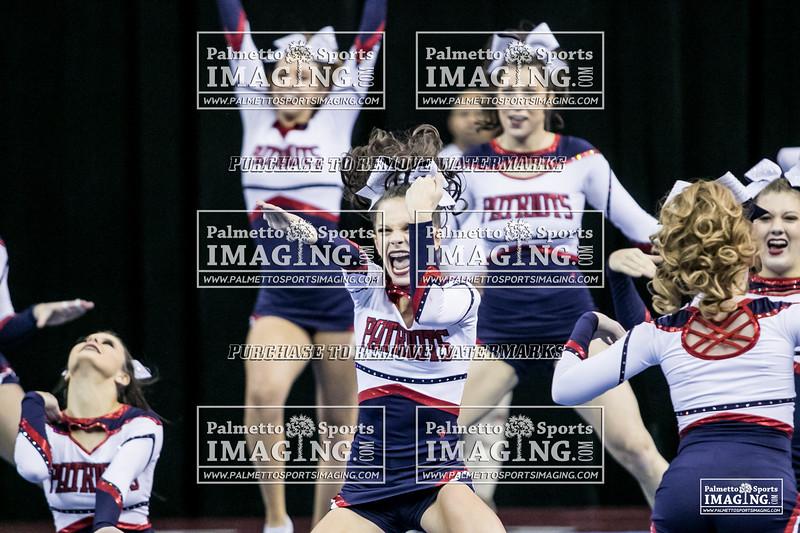 4Powdersville Varsity Cheer 2018 State-56