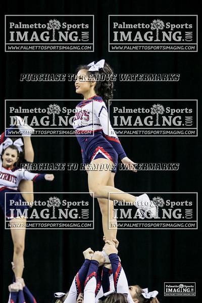 4Powdersville Varsity Cheer 2018 State-41