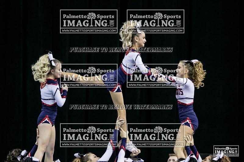 4Powdersville Varsity Cheer 2018 State-47