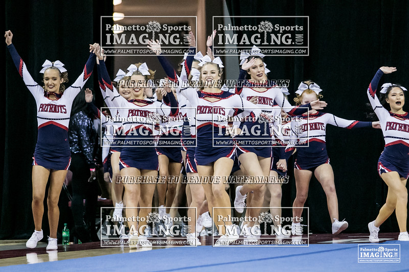 4Powdersville Varsity Cheer 2018 State-1