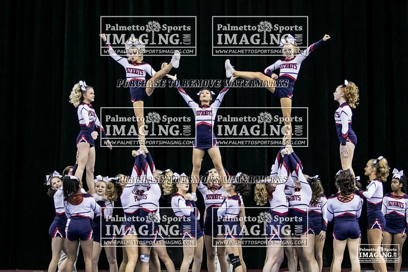 4Powdersville Varsity Cheer 2018 State-51
