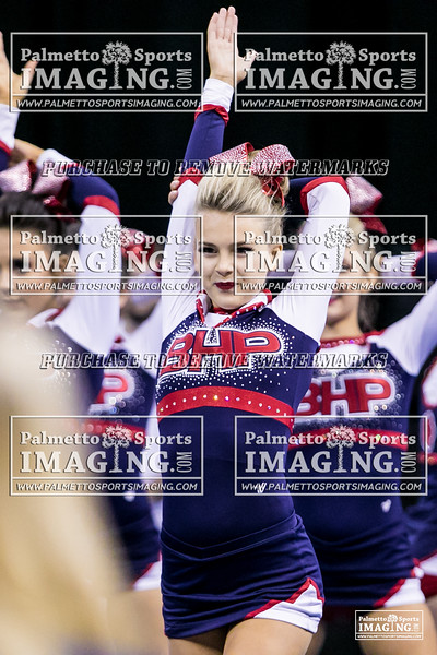 Belton-Honea Path High School State Cheer 2018