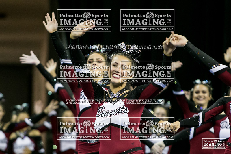 9 Brookland Cayce Varsity Cheer 2018 State-1