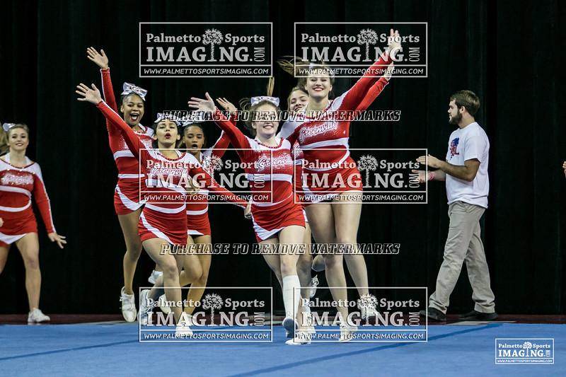 8 Greenville Varsity Cheer 2018 State-1