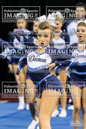 Dorman High School State Cheer 2018