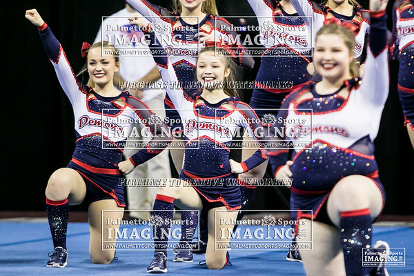 Lugoff-Elgin High School State Cheer 2018