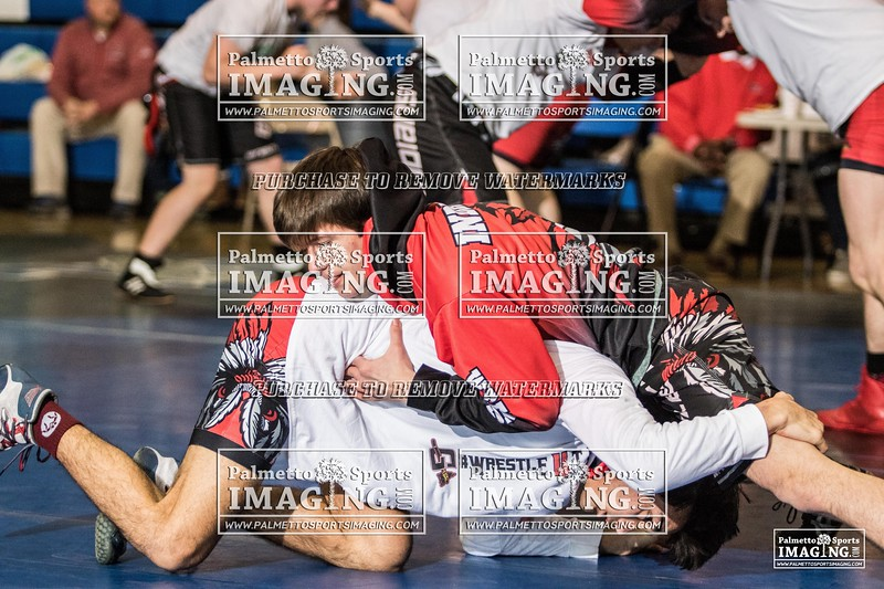 AAA State Wrestling Gilbert vs Indian Land-1