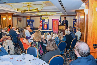 Jason Piatt DG Rotary District 7360 - State College Rotary Club Visit
