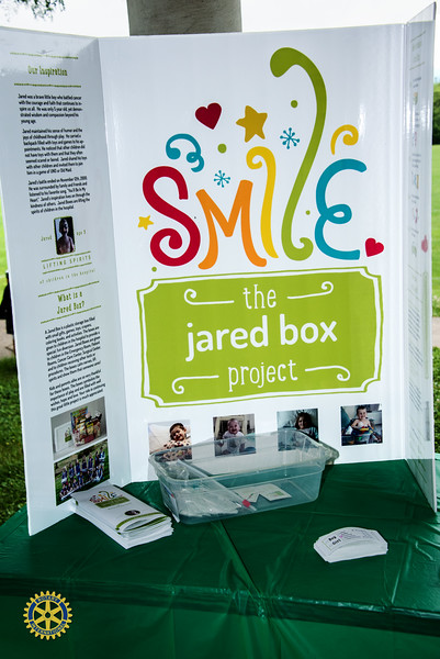 State College Downtown Rotary Club Jared Box Picnic - August 7, 2017 – Chuck Carroll
