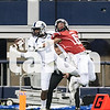 Navasota's Tren'Davian Dickson (2) makes a reception in the UIL state championship at AT&T Stadium in Arlington, Texas on Dec. 19, 2014. (Christopher Piel/ The Talon News)