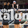 Lady Eagles take on Bushland on Friday, Nov. 18 at Curtis Culwell Centter in Garland, TX. (Caleb Miles / The Talon News)