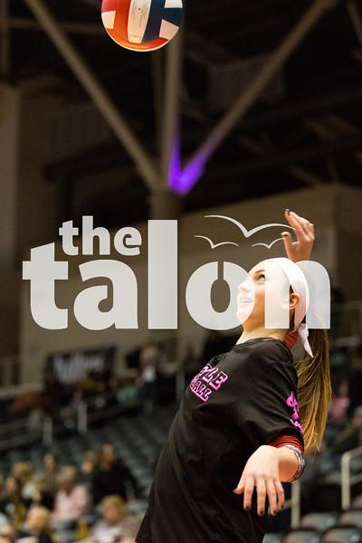 Lady Eagles take on Bushland on Saturday, Nov. 21 at Curtis Culwell Center in Garland, TX. (Caleb Miles / The Talon News)