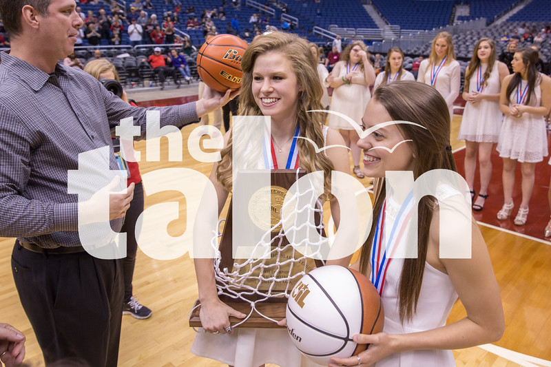 Lady Eagles vs. La Vega on Saturday, March 5 at Alamodome inSan Antonio, TX. (Caleb Miles / The Talon News)