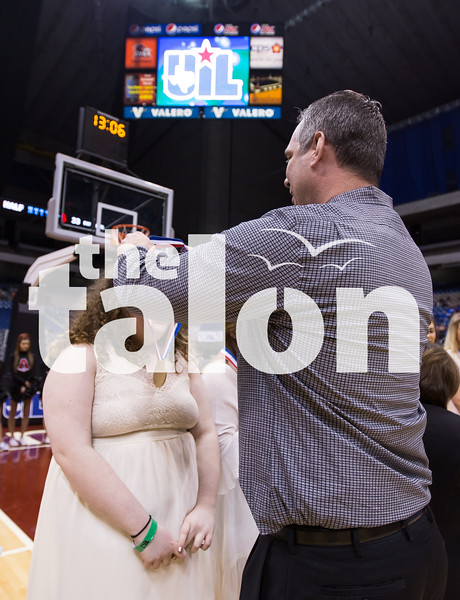 The Lady Eagles took on Waco La Vega in the UIL State Basketball Finals at the Alamodome in San Antonio,Texas on 3/5/16.