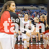 Lady Eagles take on the Liberty Hill Lady Panthers in the State Championship game on Saturday, March 4 at Alamodome in San Antonio, TX. (Caleb Miles / The Talon News)