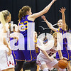 The Lady Eagles take on the Liberty Hill Panthers in the State Final Game on Mar. 3, 2017 in Argyle, Texas. (Campbell Wilmot/The Talon News)