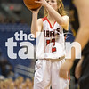 Lady Eagles vs. Liberty Hill on Friday, March 4 at Alamodome inSan Antonio, TX. (Caleb Miles / The Talon News)