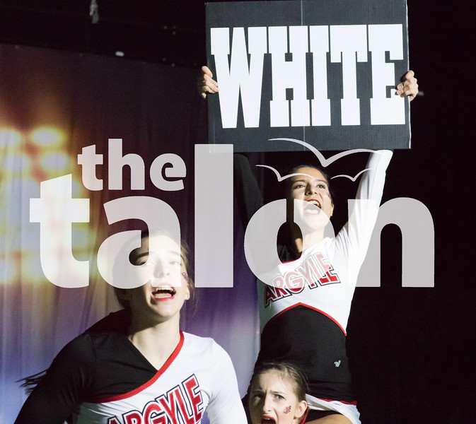 The Argyle Cher squad performed at the Uil State  at the Fort Worth Convention Center   Fort Worth, January 18, 2019. (Faith Stapleton/ The Talon News)