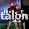 Cheer competes at state cheer competition at Convention Center in Fort Worth, Texas, on January, 11, 2018. (Sarah Berney  / The Talon News)