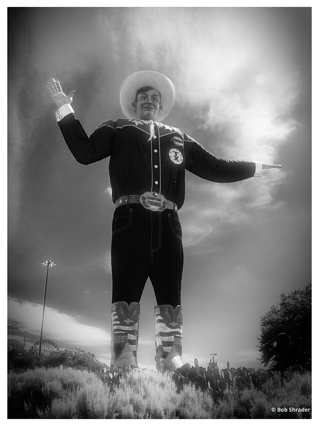 Big Tex in Infrared