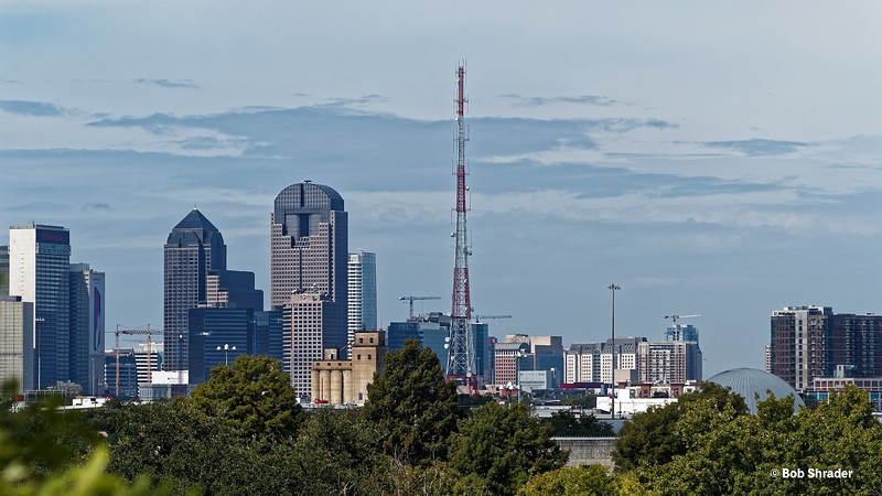 Dallas Skyline from Fair Park