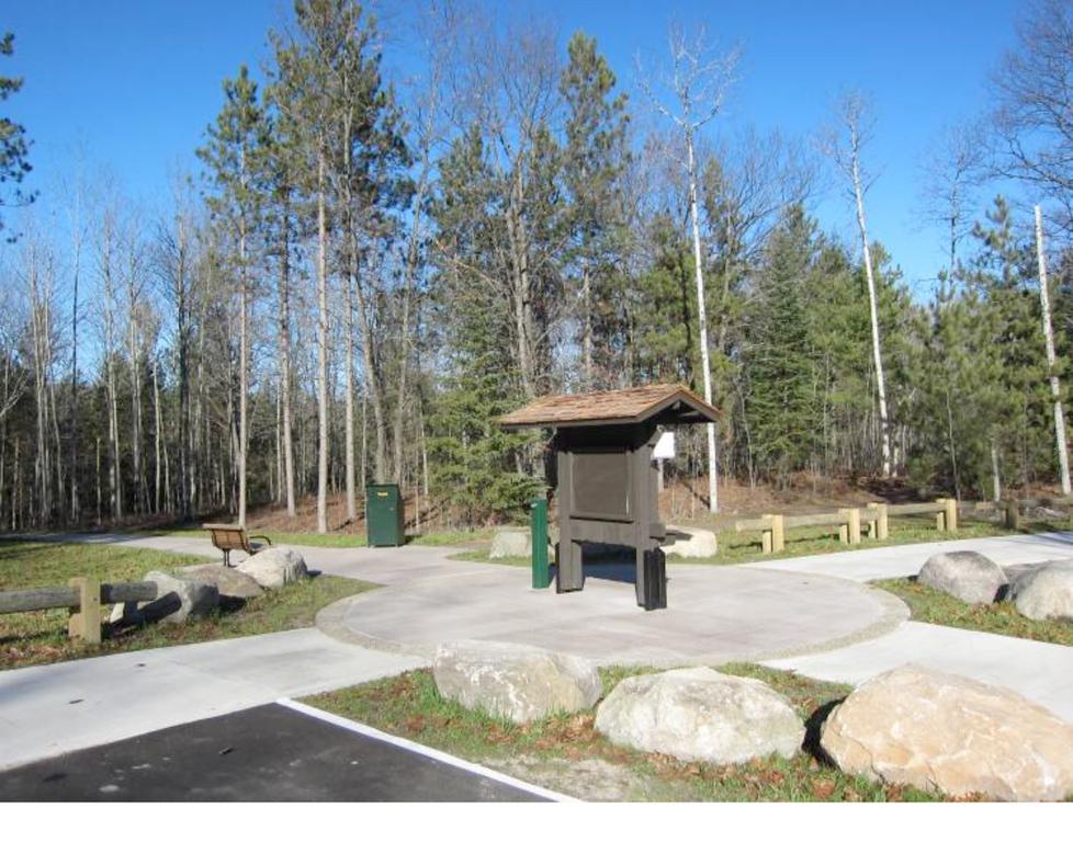 Trailside: Michigan: Ocqueoc Falls Pathway