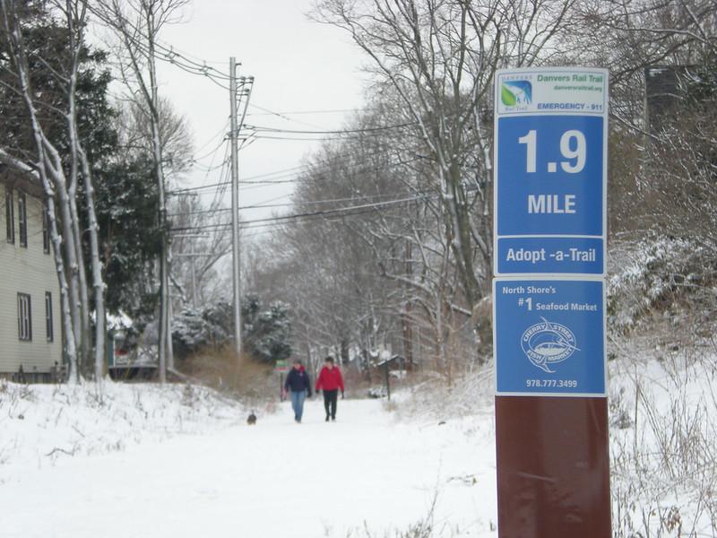 Massachusetts:  Danvers Rail Trail
