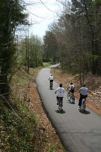 South Carolina:  Swamp Rabbit Trail