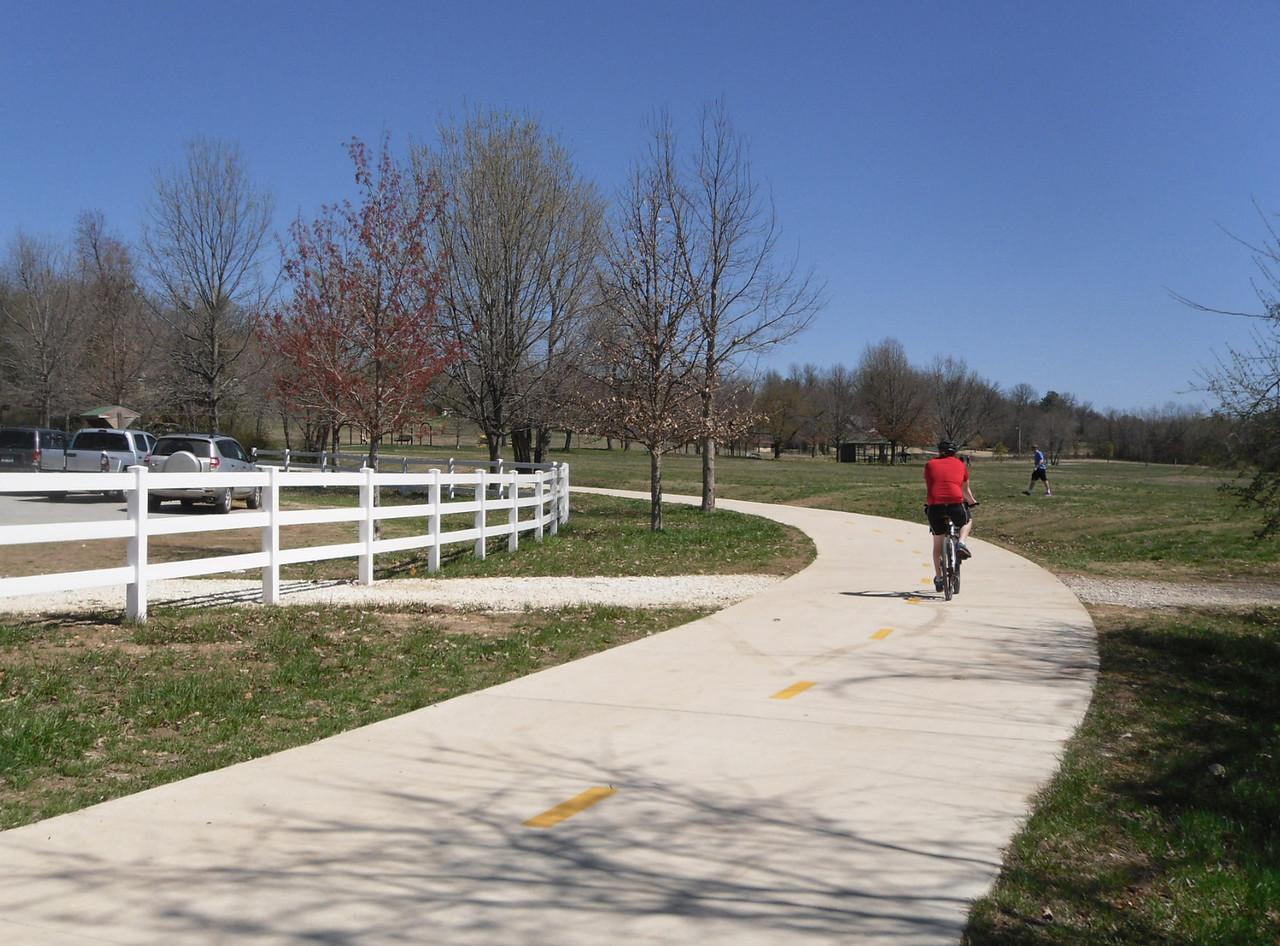Arkansas: Lake Fayetteville Connection Trail