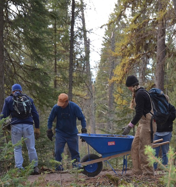 Montana: Community Trail Work Day