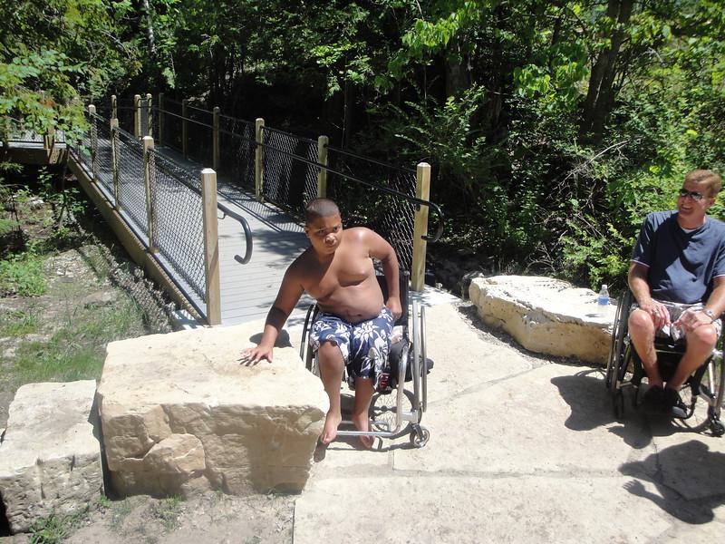 Michigan: Ocqueoc Falls Pathway